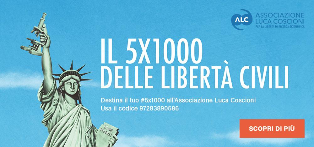 Il 5x1000 delle libertà civili
