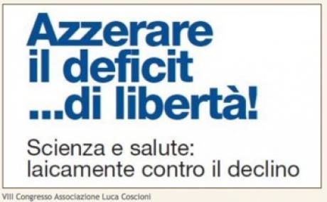 banner VIII Congresso: azzerare il deficit di libertà!
