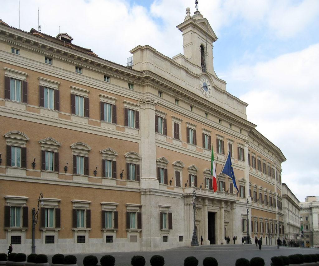 Camera dei Deputati - Esterno Montecitorio