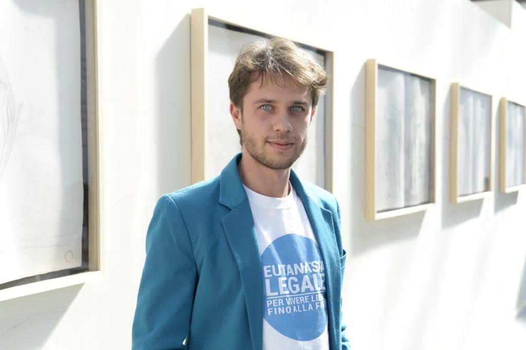 Matteo Mainardi, coordinatore della campagna Eutanasia Legale dell'Associazione Luca Coscioni e di Radicali Italiani