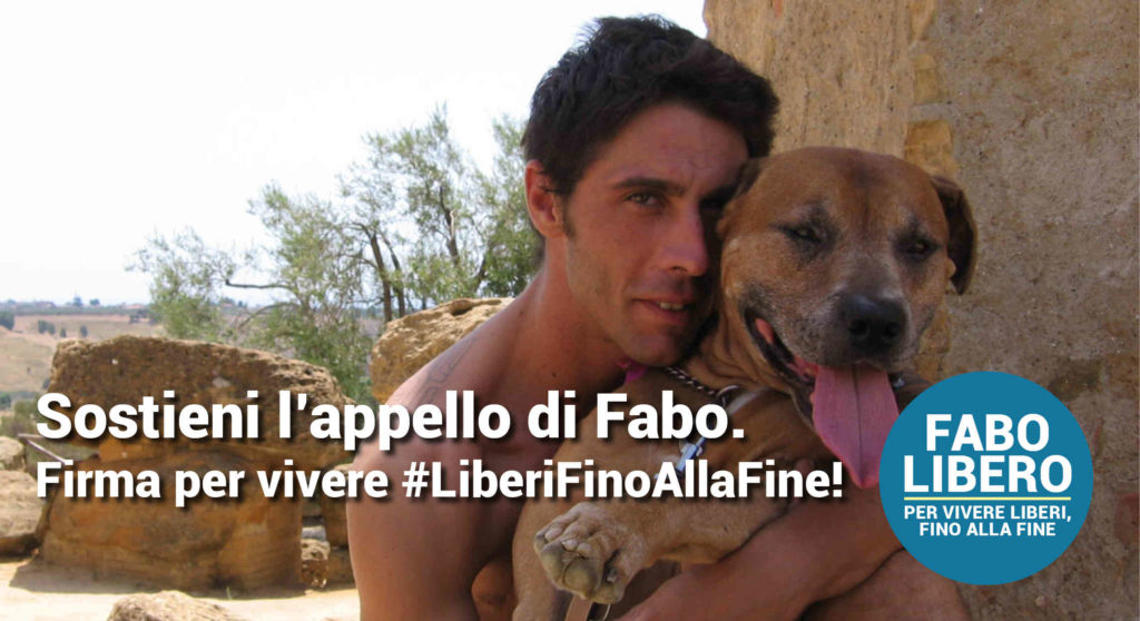 Foto di Fabo col cane