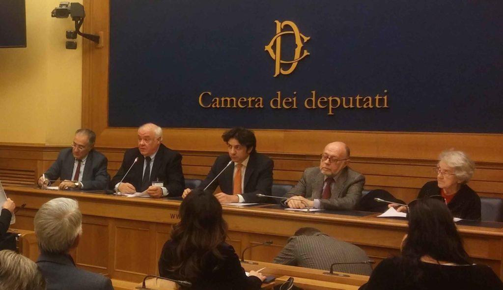 Presentazione della Carta di Medici per il Testamento Biologico alla Camera dei Deputati