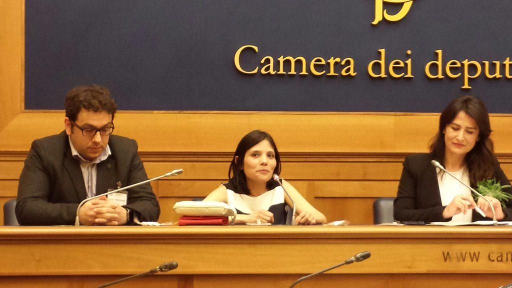 Filomena Gallo con Claudia e Maurizio