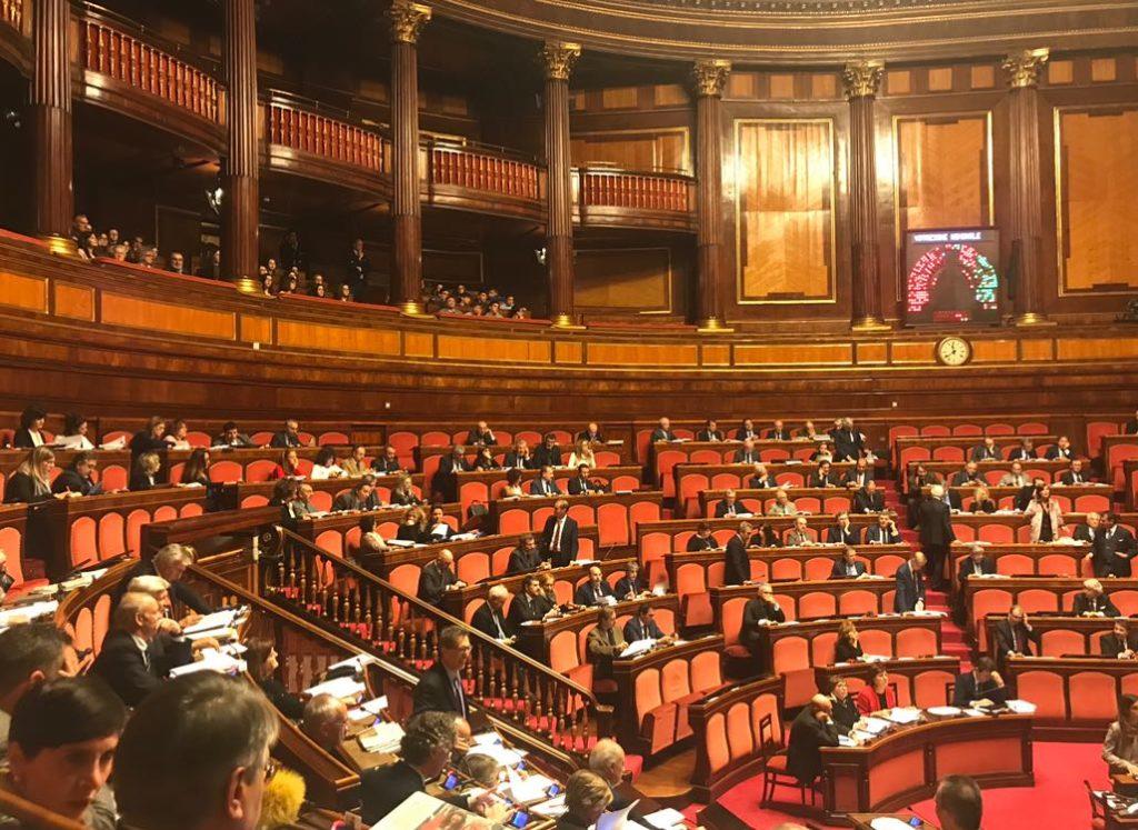 Senato 12 dicembre 2017 discussione sul testamento biologico