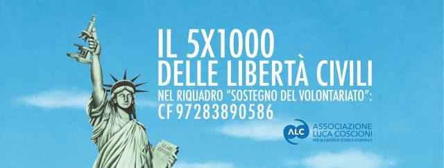 Copertina Facebook 5x1000 Associazione Luca Coscioni 2018