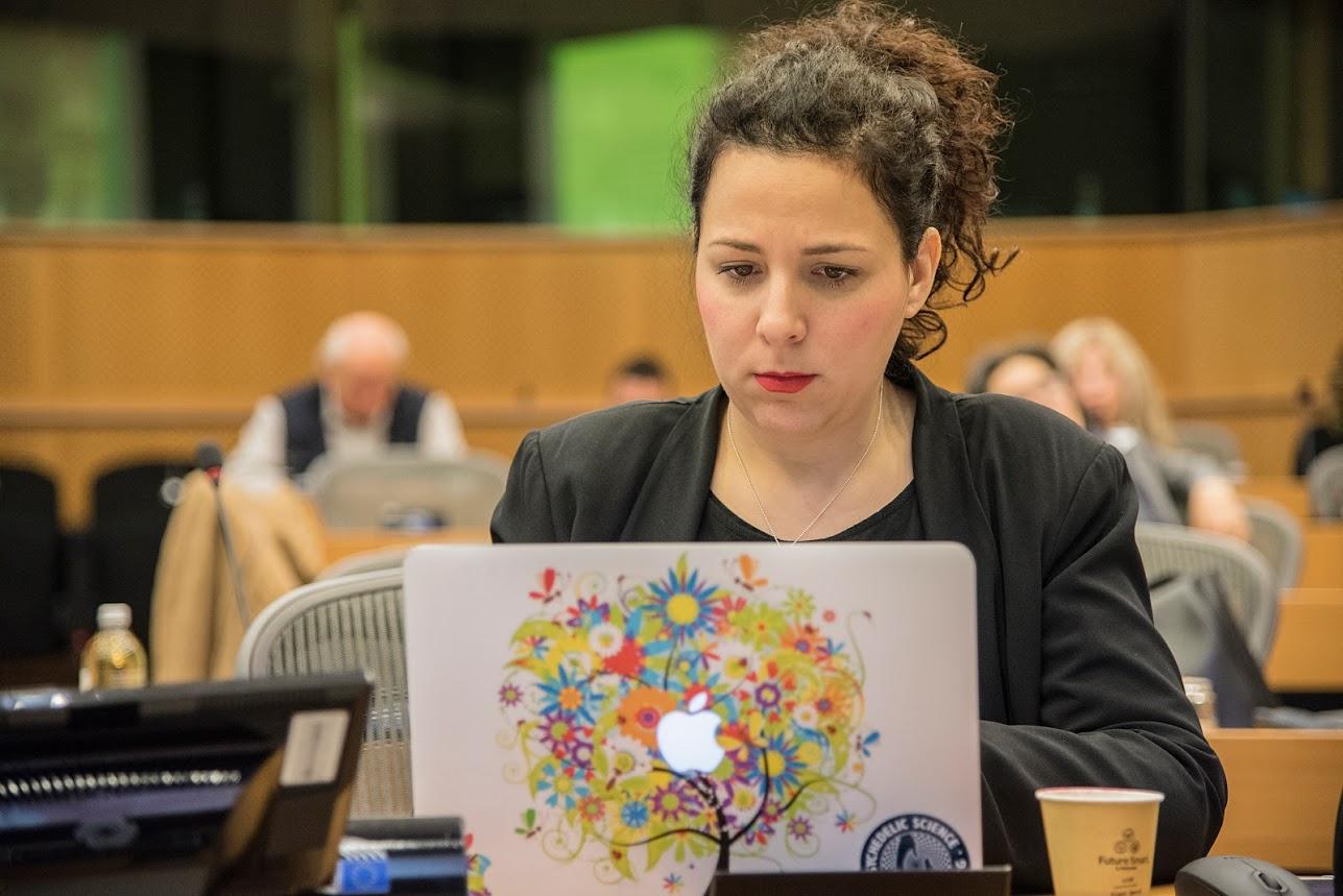 Viola Tofani Congresso Mondiale per la libertà di ricerca scientifica 2018