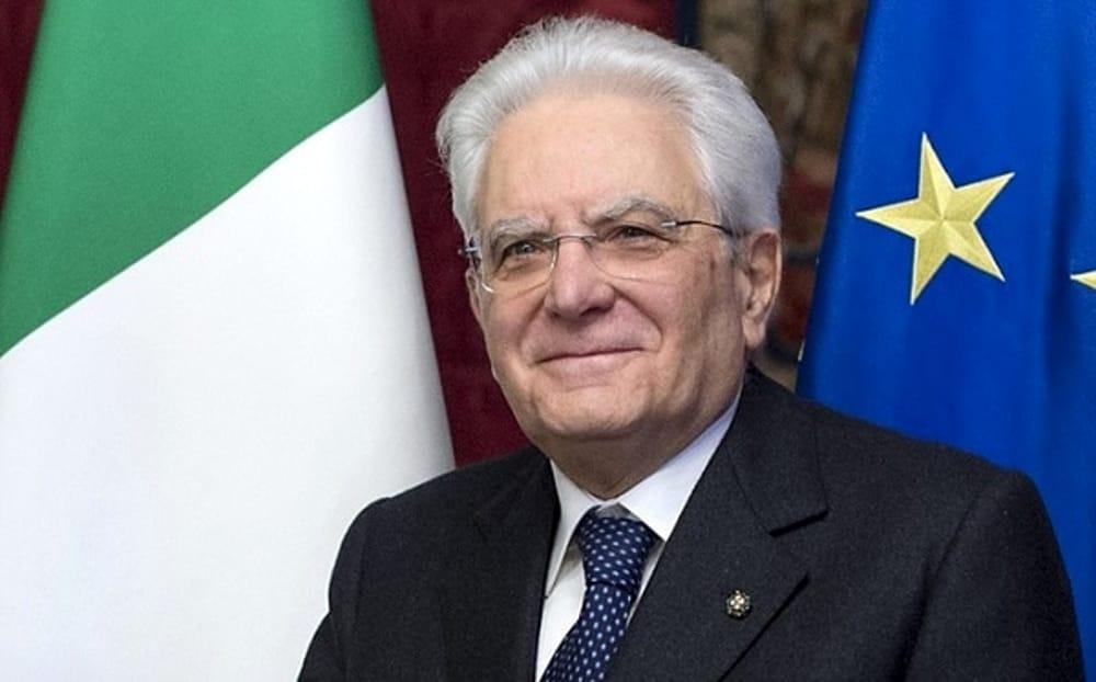 Foto del Presidente della Reppubblica Sergio Mattarella