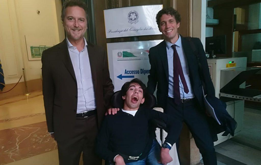 Mario Staderini, Marco Gentili e Riccardo Magi