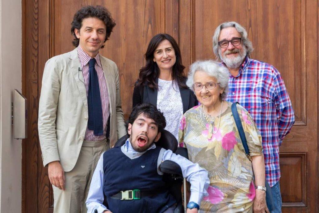 Foto con Marco Cappato, Marco Gentili, Filomena Gallo, Mina Welby e Michele De Luca