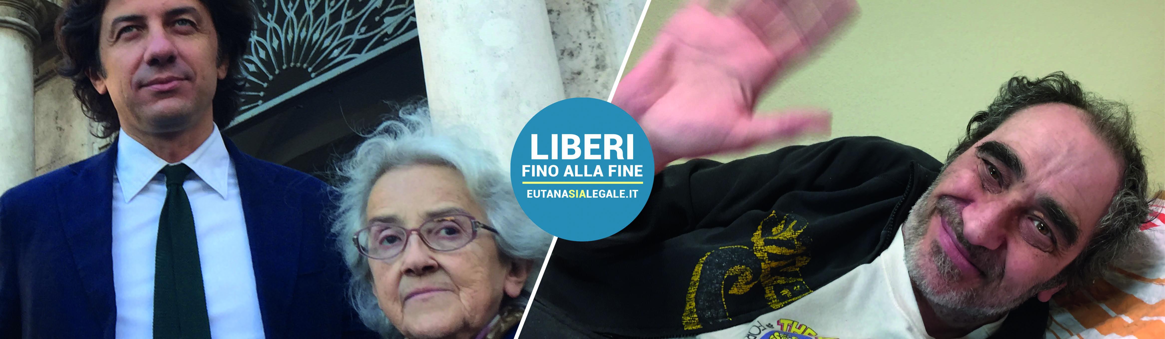 Marco Cappato, Mina Welby e Davide Trentini