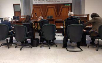 Prima Udienza processo Trentini