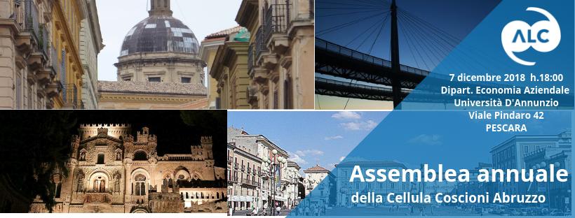 Assemblea Cellula Coscioni Abruzzo 2018