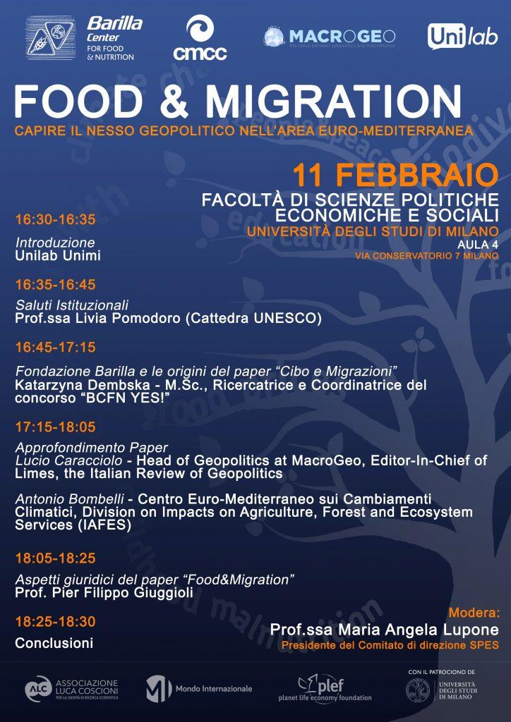 food & migration