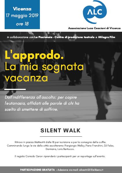 Silent Walk per l'eutanasia