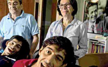 Famiglia Gentili: Cesare, Carlo, Marco e Sabrina Bassi