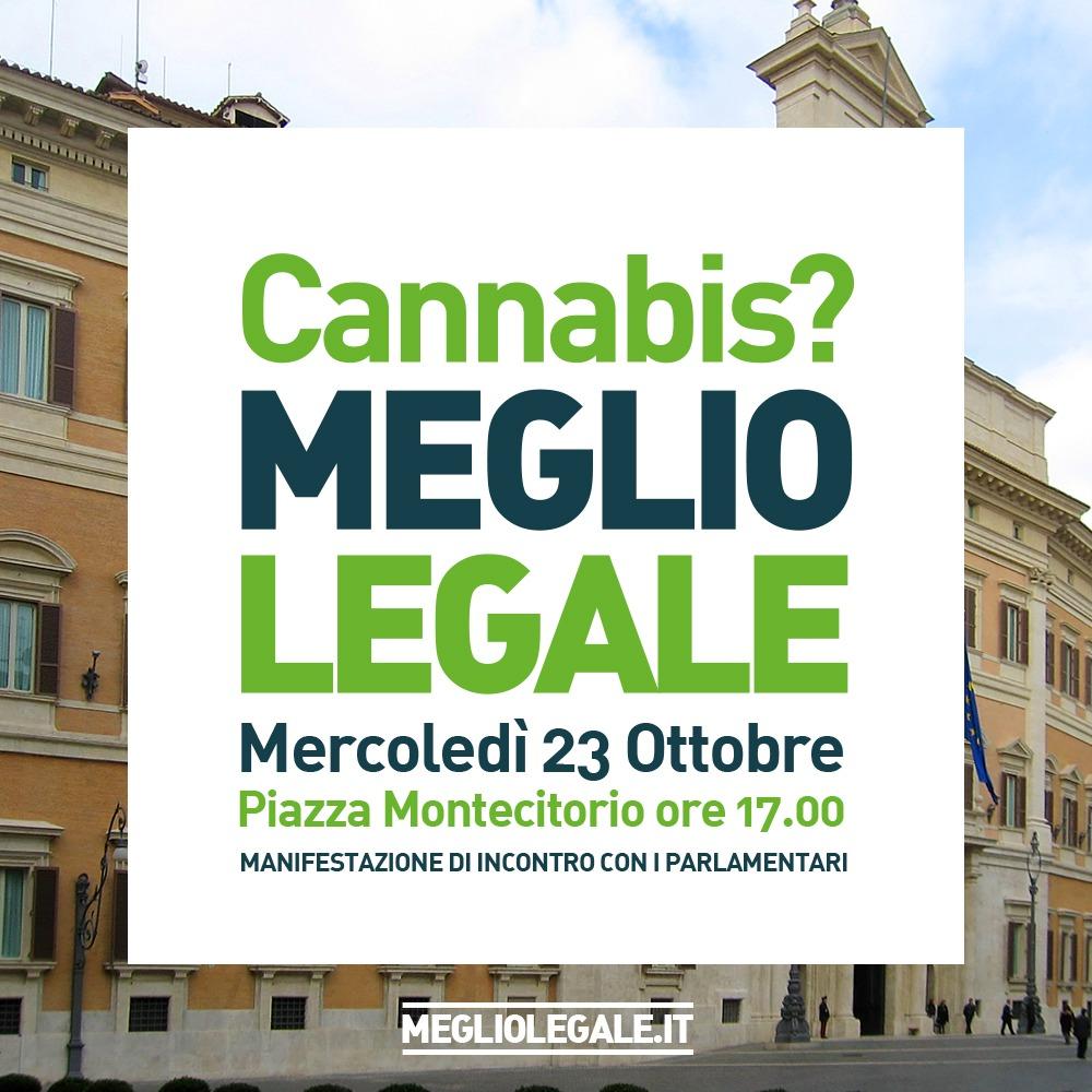 cannabis manifestazione meglio legale