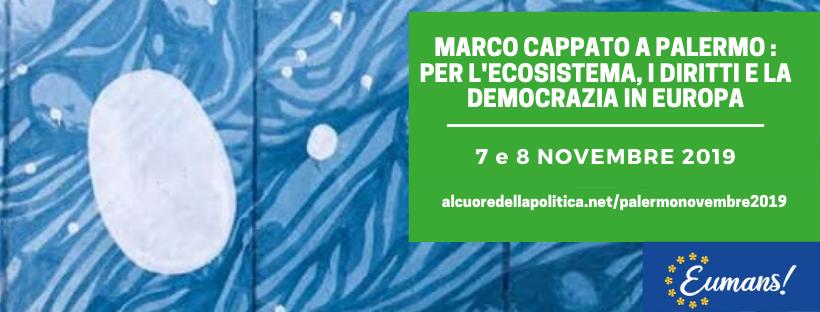 Marco Cappato a Palermo