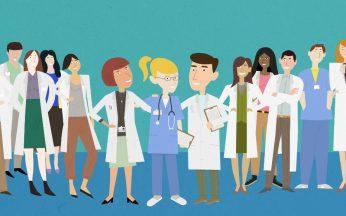 Medici e infermieri - Illustrazione di Giovanni Di Modica