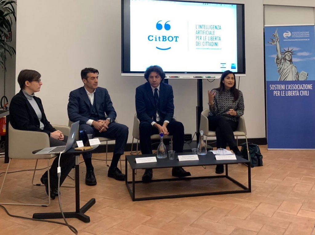Conferenza stampa di presentazione di CitBOT