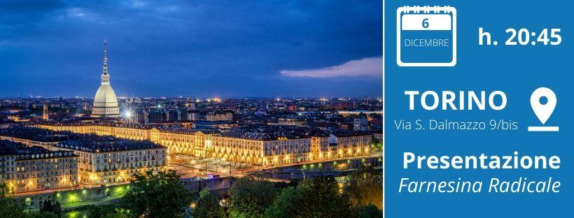 Presentazione Farnesina Radicale Torino