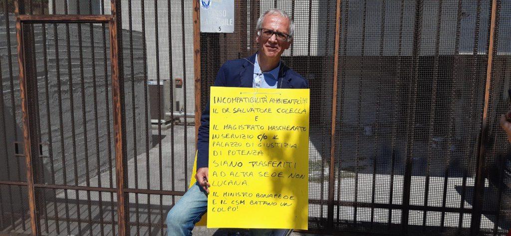 Maurizio Bolognetti Sit in