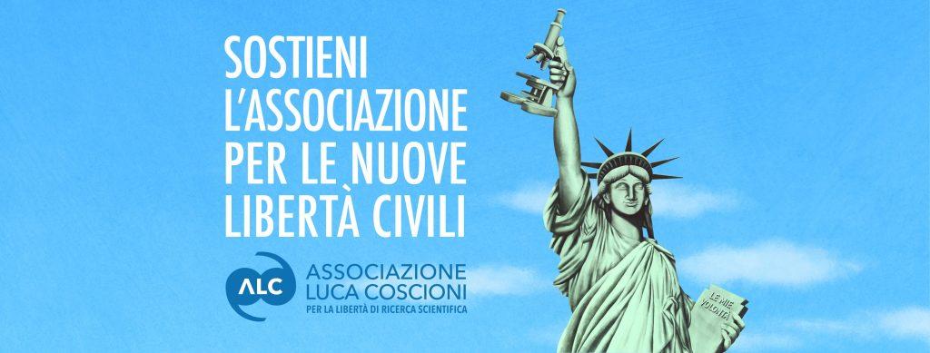 Sostieni l'Associazione per le nuove libertà civili