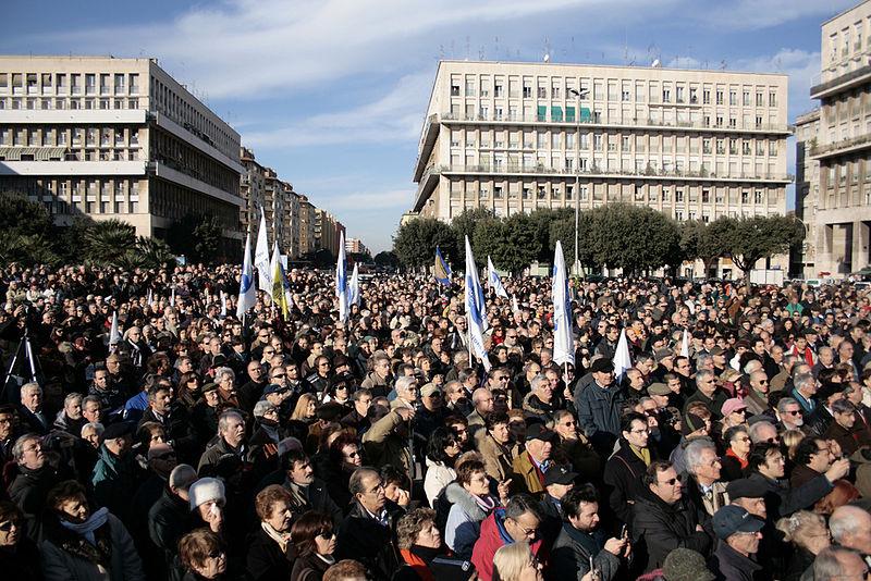 fotografia funerale laico di Piergiorgio Welby