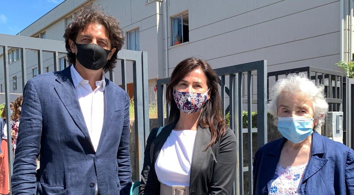 Marco Cappato, Filomena Gallo e Mina Welby al processo per Davide Trentini a Massa