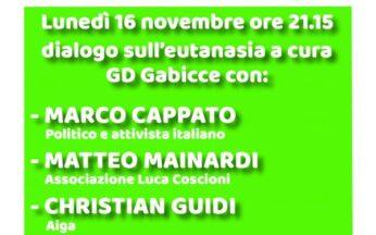Matteo Mainardi e Mario Riccio con i Giovani Democratici