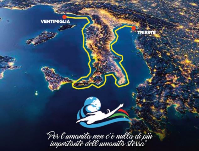 Giro d'Italia a nuoto 2021